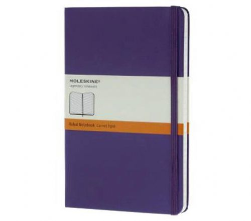 Purple Large Ruled Notebook